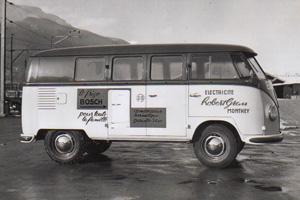Vieux bus Grau